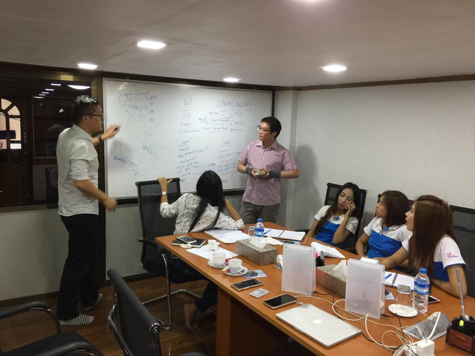 Training Local Agents in Myanmar