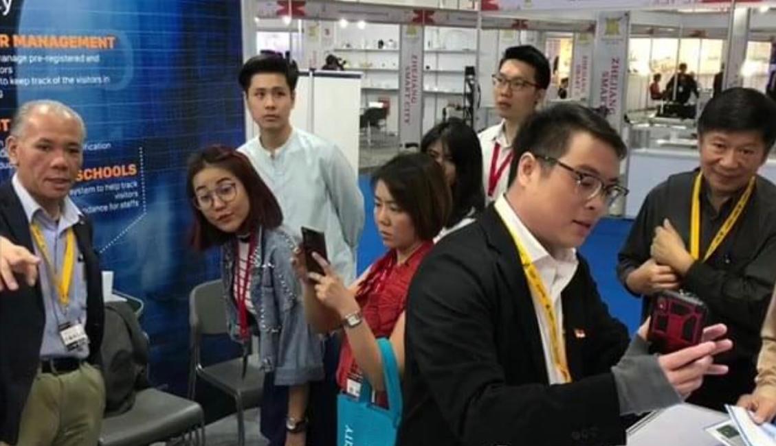 Smart City Exhibition in Bangkok, Thailand